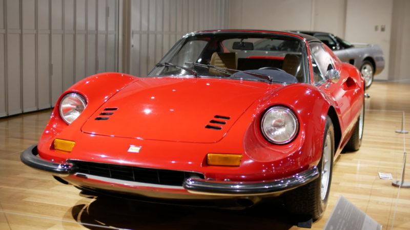 トヨタ博物館(toyotahakubutukan)-toyota automobile museum-「フェラーリ・ディーノ246GTS」