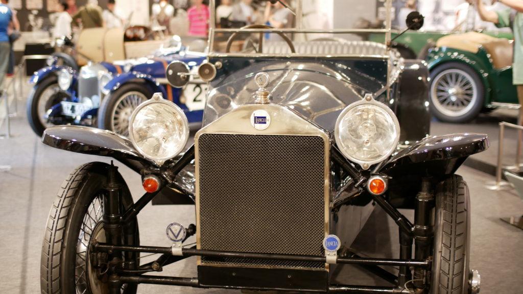 Lancia Lambda 1924(ランチア・ラムダ)【アウト ガレリア ルーチェ auto galleria LUCE】【ウェブマガジン「GOKUI」車両図鑑 https://gokui.biz/ 】【岐阜県美濃市Milestone Vehicle https://milestone-vehicle.com/ 】