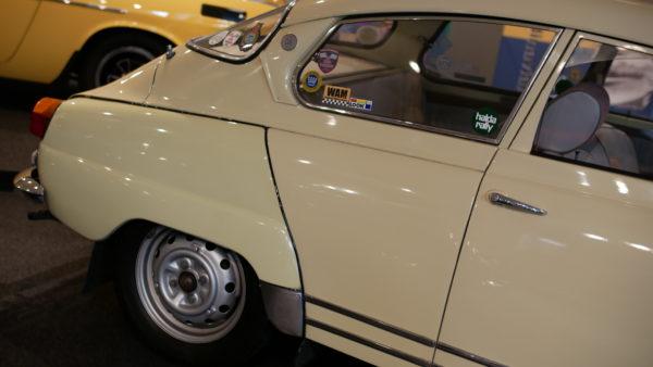 SAAB 96(サーブ・96)【アウト ガレリア ルーチェ auto galleria LUCE】【ウェブマガジン「GOKUI」車両図鑑 https://gokui.biz/ 】【岐阜県美濃市Milestone Vehicle https://milestone-vehicle.com/ 】
