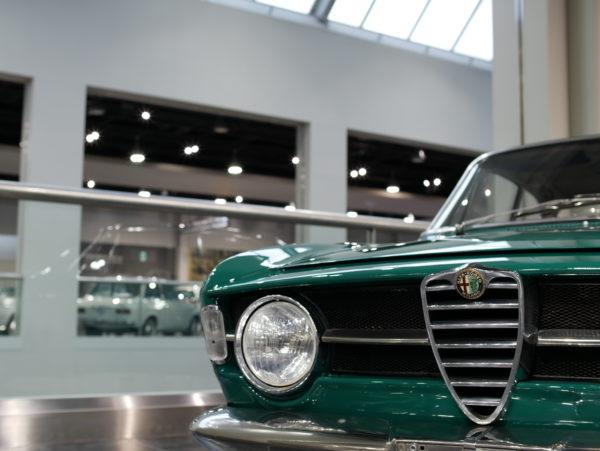 Alfa Romeo Giulia  1300GT Junior(アルファロメオ・ジュリア・1300GT・ジュニア)【トヨタ博物館 TOYOTA AUTOMOBILE MUSEUM】【ウェブマガジン「GOKUI」車両図鑑 https://gokui.biz/ 】【岐阜県美濃市Milestone Vehicle https://milestone-vehicle.com/ 】