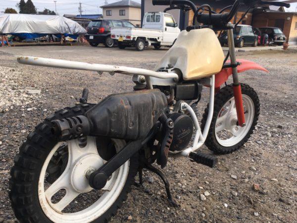 モトクロス競技専用バイクQR50の整備日記 Maintenance diary of motocross competition bike QR50
