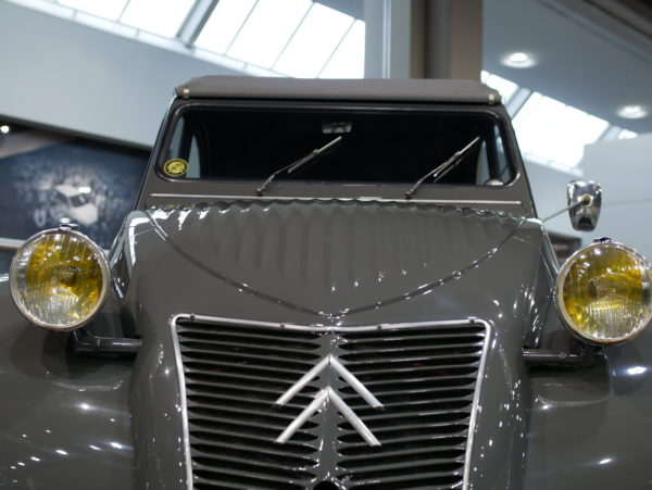 Citroen 2CV typeA(シトロエン)【トヨタ博物館 TOYOTA AUTOMOBILE MUSEUM】【ウェブマガジン「GOKUI」車両図鑑 https://gokui.biz/ 】【岐阜県美濃市Milestone Vehicle https://milestone-vehicle.com/ 】