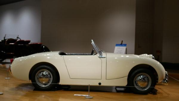 Austin Healey Sprite Mk1(オースチン ヒーレー・スプライト)【トヨタ博物館 TOYOTA AUTOMOBILE MUSEUM】【ウェブマガジン「GOKUI」車両図鑑 https://gokui.biz/ 】【岐阜県美濃市Milestone Vehicle https://milestone-vehicle.com/ 】