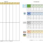 排便日記 薬の服用記録