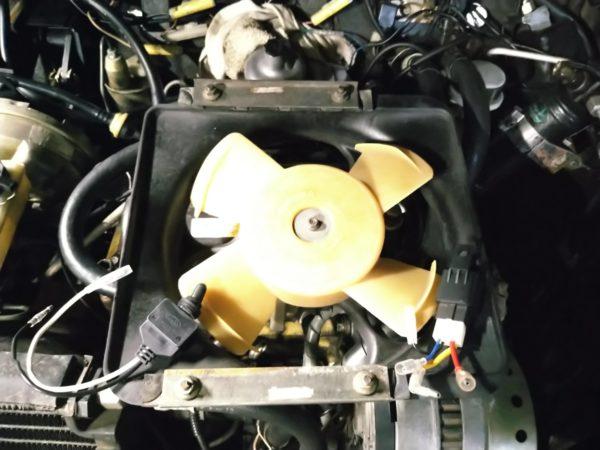 ローバーミニ1000 電動ファンスイッチ