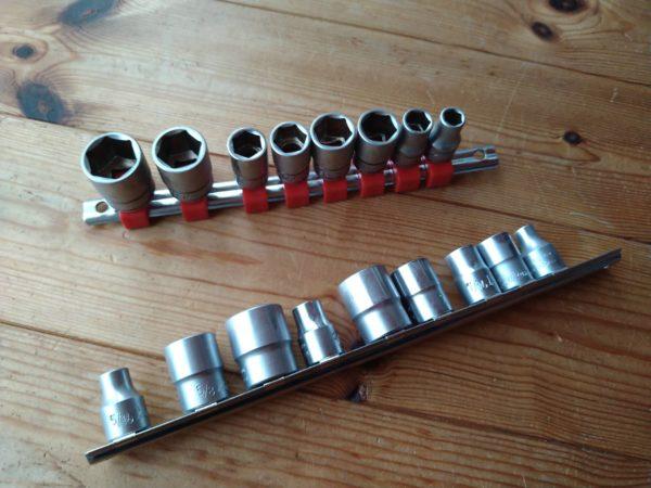ローバーミニ1000 インチ工具