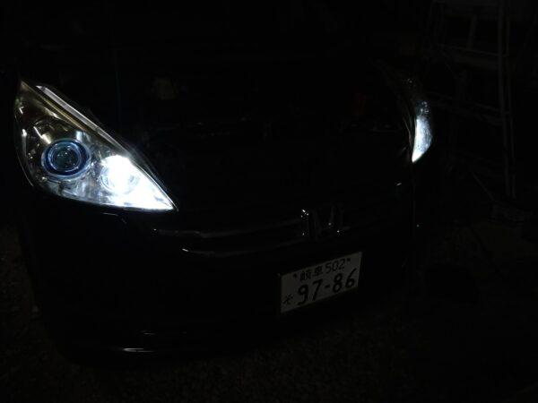 ステップワゴン RG ヘッドライト LED化